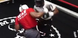Leaked Sparring Footage Shows Chisora Going To War Ahead Of Whyte Rematch