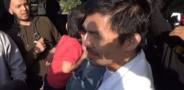 Pacquiao's Response To Reporter Asking If He Can Knock Out Broner Is Gold