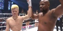 Tenshin Reacts To Crushing Mayweather Loss - Japanese to English Translation