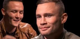 Warrington vs Frampton Full Face Off Video