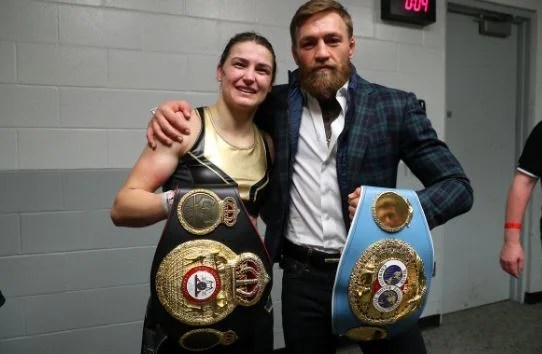 What Conor McGregor Left In Katie Taylor's Changing Room After MSG Win