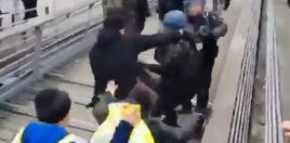 Former Light-Heavyweight Champion Punches Police Bare Knuckle