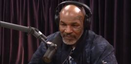 Mike Tyson Goes On The Joe Rogan Podcast