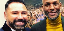 Oscar De La Hoya Pays Tribute To Bernard Hopkins Since He Got KO'd By Him