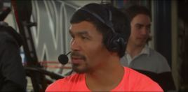 Pacquiao Reacts To Defeating Adrien Broner - Answers Mayweather Question