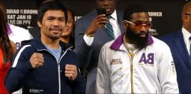 Pacquiao vs Broner Tale Of The Tape