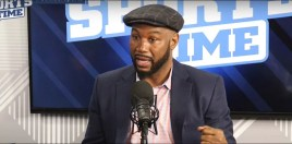 Lennox Lewis Makes Good Point About The Joshua vs Miller Stage Altercation