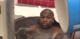 Ice Bath Video Of 42-Year-Old Floyd Mayweather Fuels Boxing Return Speculation