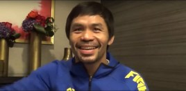 Manny Pacquiao Reacts To Errol Spence vs Mikey Garcia
