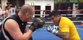 Marcos Maidana Training For Comeback At Mayweather Gym