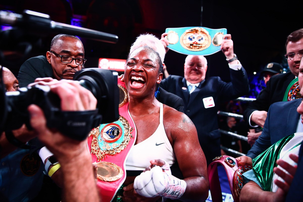 Boxing World Pay Tribute To Claressa Shields' Stunning Achievement