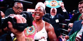 Boxing World Pay Tribute To Claressa Shield's Stunning Achievement