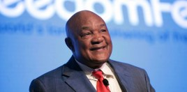 George Foreman Reveals Who He Thinks The Best Puncher In Boxing Is