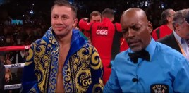 Golovkin's knockout Of Steve Rolls