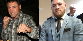 Conor McGregor Reacts To Oscar De La Hoya Challenge