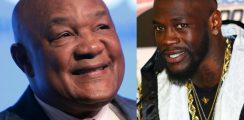 George Foreman Sticks Up For Deontay Wilder In Fury vs Joshua Situation