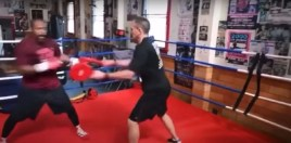 Watch Roy Jones Shows Off Hand Speed - Sends Tyson A Warning