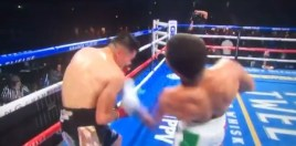 Gervonta Davis Knocks Leo Santa Cruz Out Cold