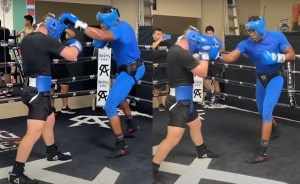 canelo sparring heavyweight