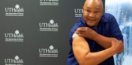 Genius Reaction To George Foreman Getting Covid Vaccine