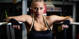 Blonde Boxing Beauty Wins Big Making Waves For Women's Boxing
