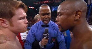 Prime Mayweather vs Prime Canelo Question Causes People To Go Nuts
