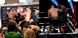 Watch: Weigh In Brawl Nearly Causes Heavyweight Bout Cancelation