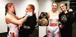 Blonde Boxing Bombshell and New Champ Show What Boxing Is All About