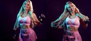 Blonde Boxing Stunner Enlists A Significant New Weapon