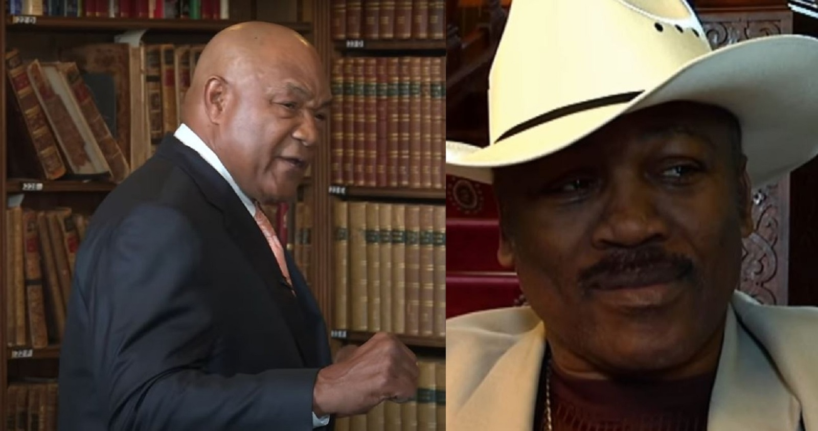 George Foreman puts a boxer ahead of Joe Frazier for best left hook ever