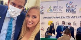 Blonde Boxing Bombshell Meets Boxing Boss In Mexico