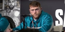 Canelo Erupts On Saunders Post-Fight Presser Hijacker and His Father