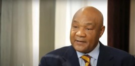George Foreman Reveals What Helped Him Knock Out Joe Frazier