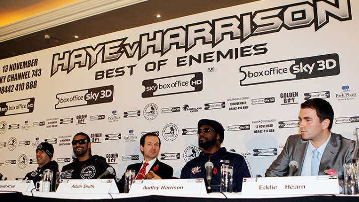 How I became a boxing promoter by Eddie Hearn - 'I was s**tting ...