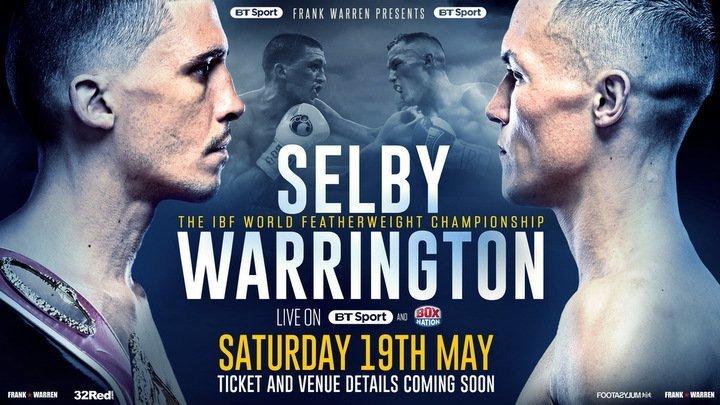 Selby vs Warrington – May 19 – Leeds
