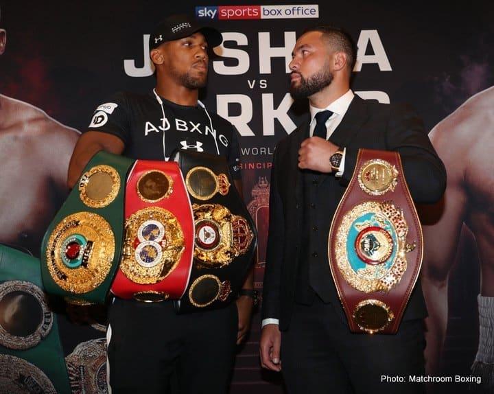 Joshua vs Parker – March 31 – Cardiff, Wales