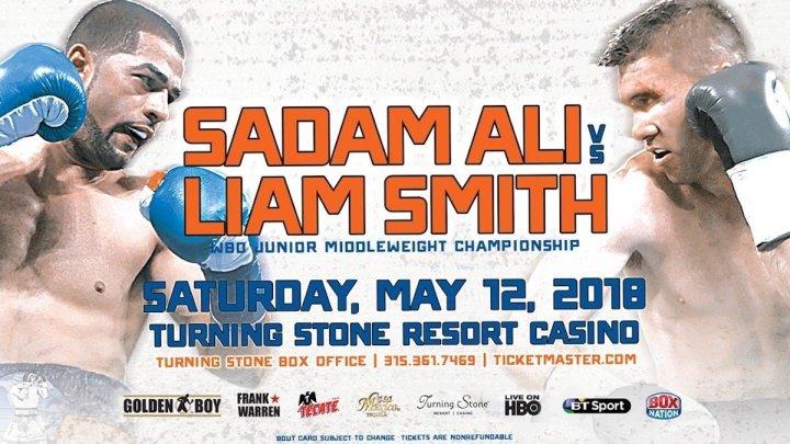 Ali vs Smith - May 12 - Verona, N.Y. @ Verona, N.Y. | Verona | New York | United States