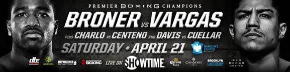 Broner vs Vargas - April 21 - Brooklyn, NY @ Brooklyn, NY | New York | United States