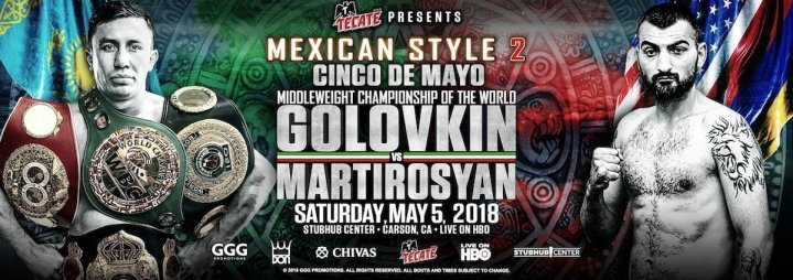 Golovkin vs Martirosyan - May 5 - Carson, Calif. @ Carson, Calif. | Carson | California | United States