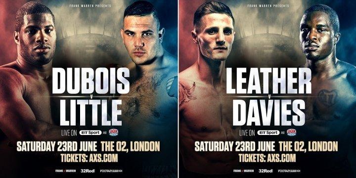 Dubois vs. Little -  June 23 - London @ London, UK | London | England | United Kingdom