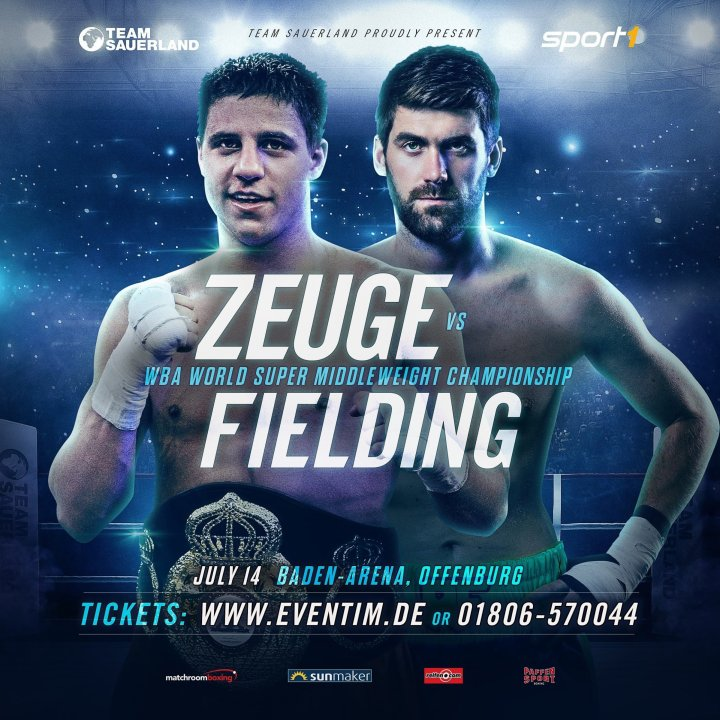 Zeuge vs Fielding -  July 14 - Offenburg @ Offenburg | Offenburg | Baden-Württemberg | Germany