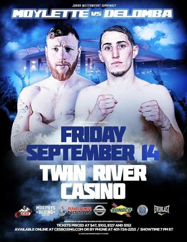 DeLomba vs. Moylette -  Sept.14 - Lincoln, R.I. @ Lincoln, R.I. | Lincoln | Rhode Island | United States