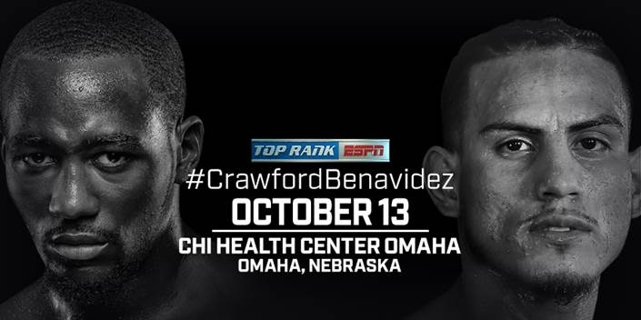 Crawford vs Benavidez Jr.  - October 13 - Omaha @ Omaha | Omaha | Nebraska | United States