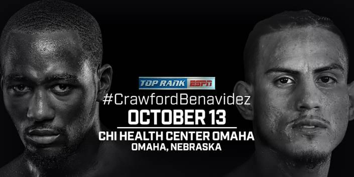 Crawford vs Benavidez Jr.  - October 13 - Omaha @ Omaha | Omaha | Nebraska | United States
