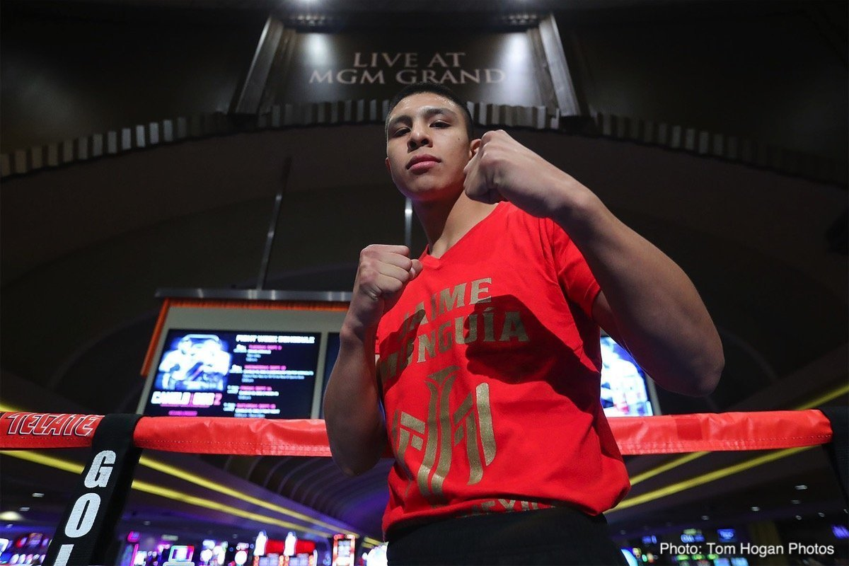 Munguia vs Hogan –  April 13 –  DAZN