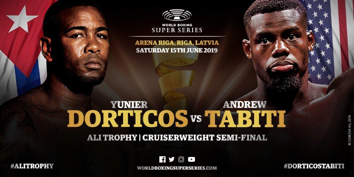Dorticos vs Tabiti – June 15 – DAZN