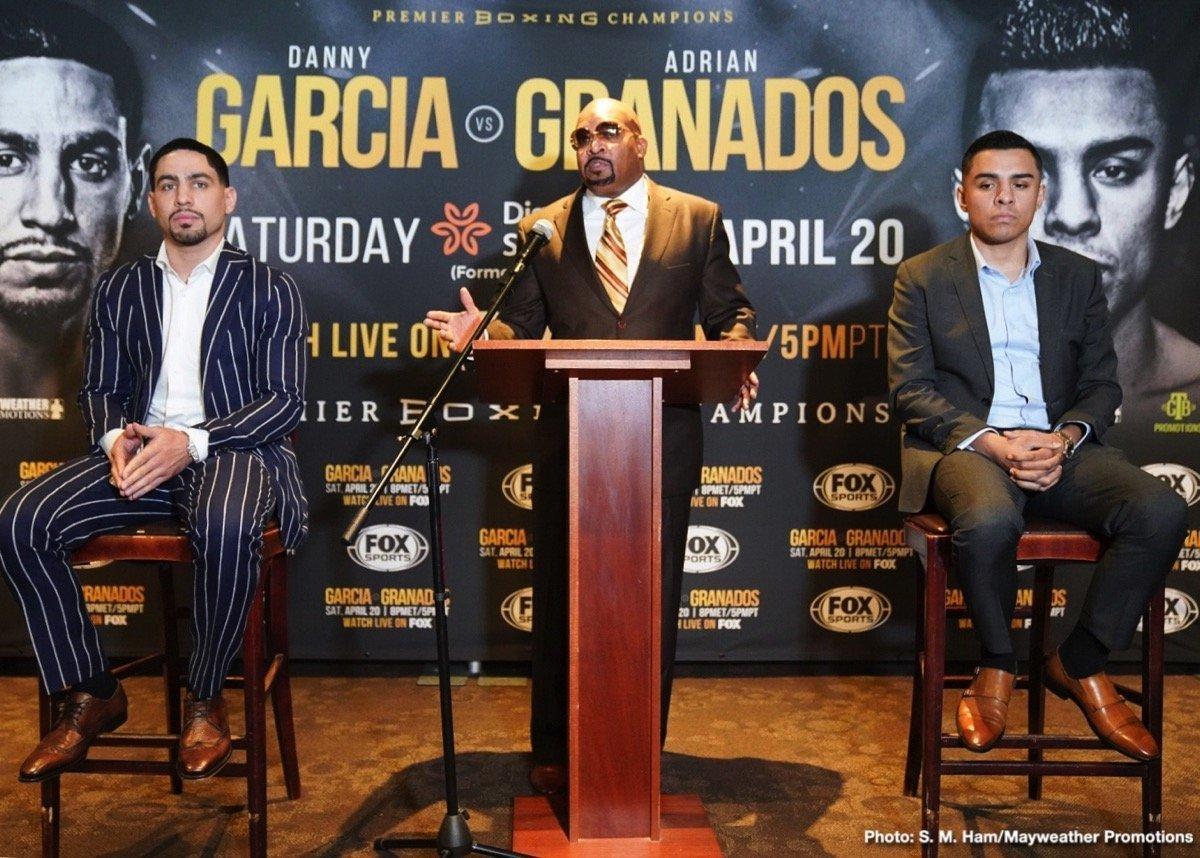 Garcia vs Granados - April 20 - FOX @ Dignity Health Sports Park in Carson, | Carson | California | United States