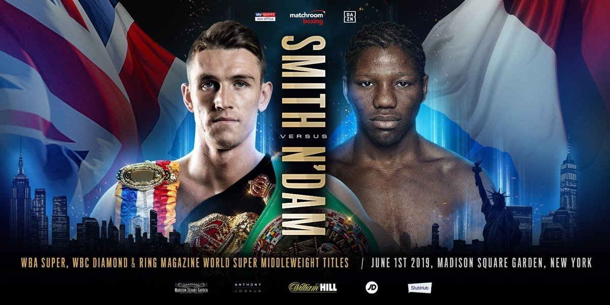 Calllum Smith vs N`Dam - June 1 - DAZN @ Madison Square Garden in New York | New York | New York | United States