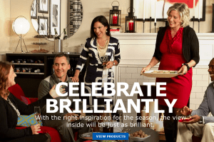 Ikea's celebrate brilliantly