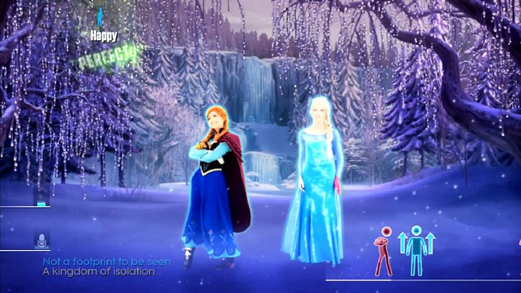 Just Dance 2015 Grooves With Frozens Ana And Elsa BoxMash